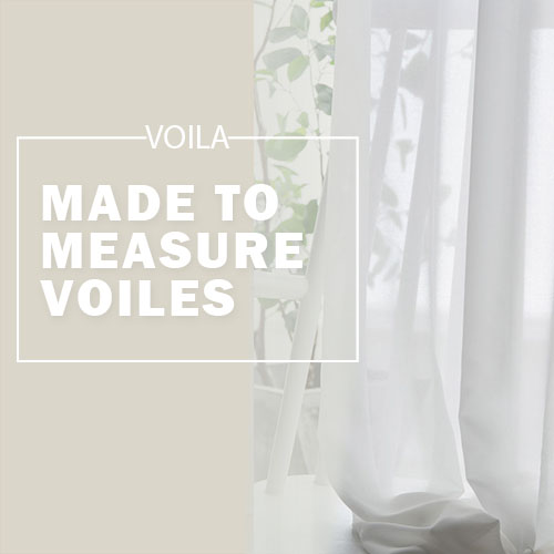 made to measure sheer and voile curtains