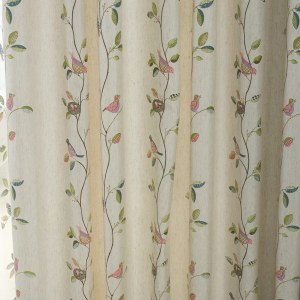 Misty Meadow Cream Curtain 1