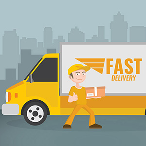 Delivery & Shipping time and charges