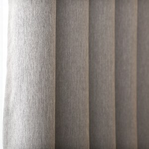Gainsborough Light Grey Linen Style Curtain 2