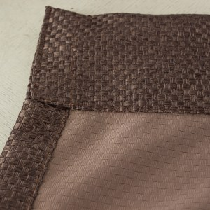 Royale Coffee Linen Style Curtain 6