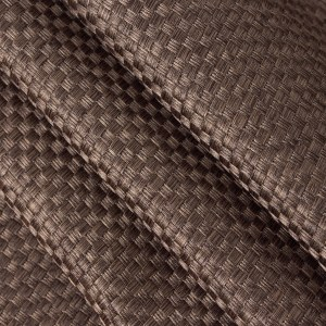 Royale Coffee Linen Style Curtain 7