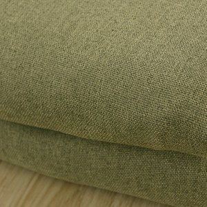 Regent Olive Green Curtain 5