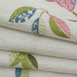 Misty Meadow Cream Curtain 7