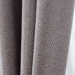 Royale Grey Linen Style Curtain 4