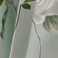 Morning Flower Mint Green Roman Blind 5