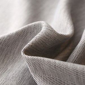 Gainsborough Light Grey Linen Style Curtain 3
