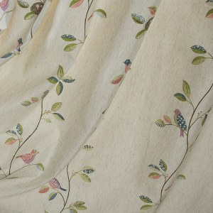 Misty Meadow Cream Roman Blind 1