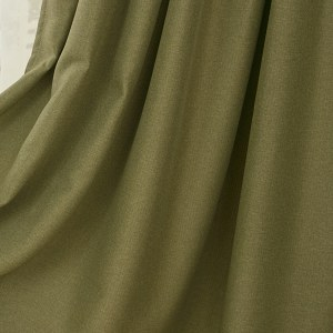 Regent Olive Green Curtain 4