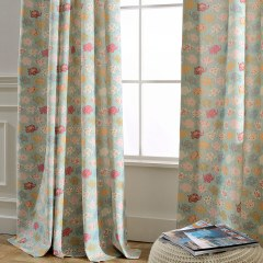 Baby Elephant Pink and Blue Curtain 5
