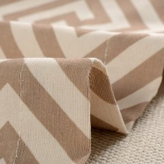 Greek Key Light Brown Curtain 6