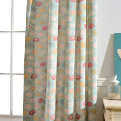 Baby Elephant Pink and Blue Curtain 9