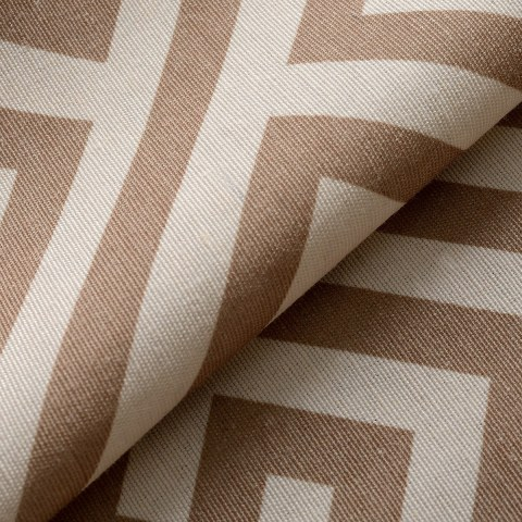 Greek Key Light Brown Roman Blind 4
