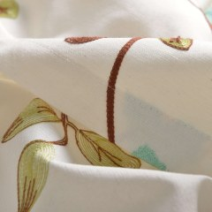 Floral Journey Sage Green Embroidered Curtain 8