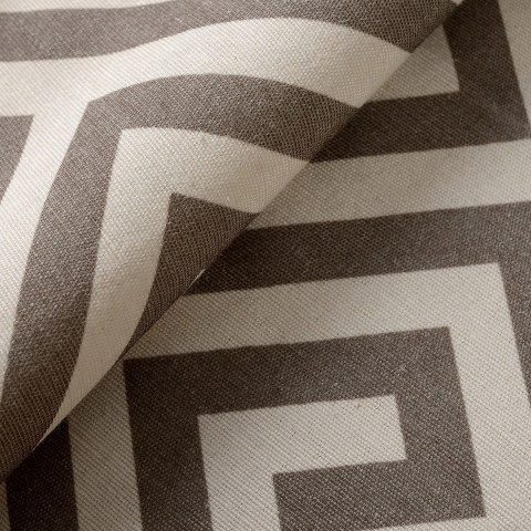 Greek Key Dark Brown Roman Blind 5