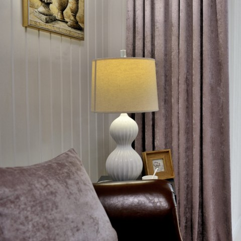 Luxury Mocha Chenille Curtain 1