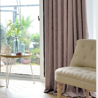 Luxury Mocha Chenille Curtain 3