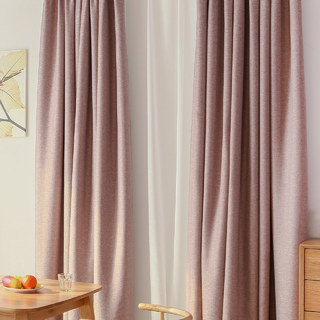 Serene Moment Mauve Purple Curtain 1