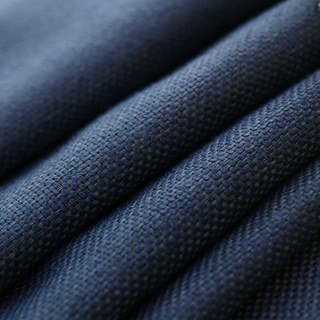 Subtle Spring Denim Navy Blue Roman Blind 1