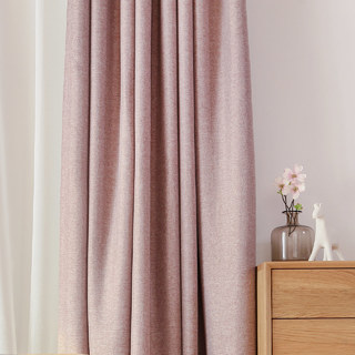Serene Moment Mauve Purple Curtain 3