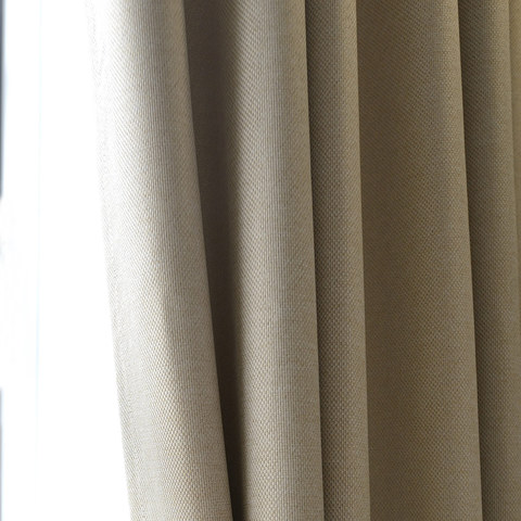Slick City Cream Blackout Curtain 7