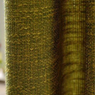 Slick City Olive Green Roman Blind 2
