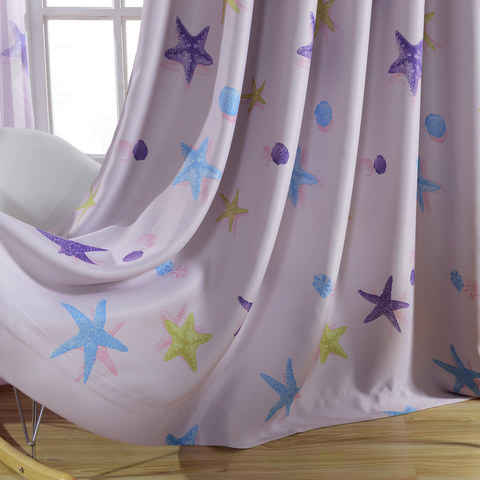Starfish Baby Pink Curtain 6