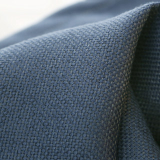 Subtle Spring Denim Navy Blue Curtain -  New 7