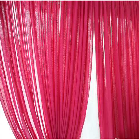 Sheer Curtain Notting Hill Rose Pink Voile Curtain 4