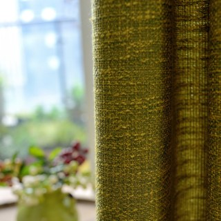 City Style Olive Green Curtain 5