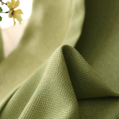 Subtle Spring Lime Green Roman Blind 3