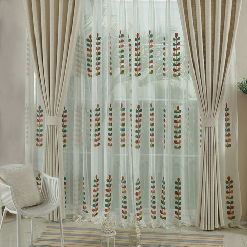 City Style Cream Curtain 3