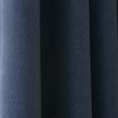 Subtle Spring Denim Navy Blue Roman Blind 2