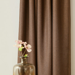 Serene Moment Dark Brown Curtain 5