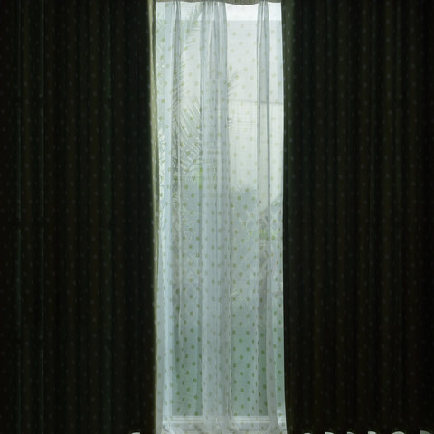 Classic Blackout Green Polka Dot Curtain 5