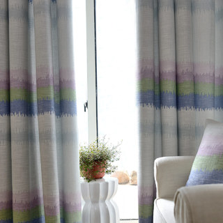 Pastel Rainbow Curtain 2