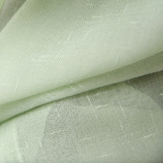 Notting Hill  Luxury Sage Green Voile Curtain 5