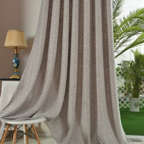 Slick City Light Grey Curtain 1