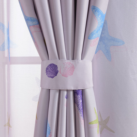 Starfish Baby Pink Curtain 5