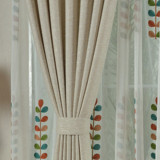 City Style Cream Curtain 4