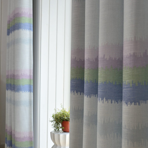 Pastel Rainbow Curtain 4