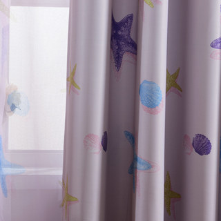 Starfish Baby Pink Curtain 3
