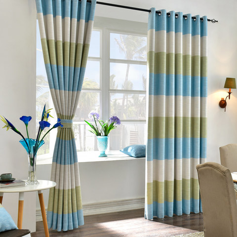 The Breezy Stripes Curtain 1