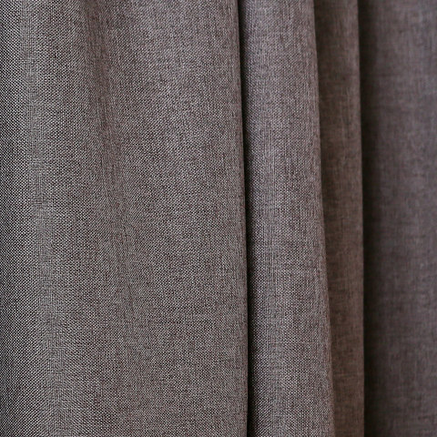 Serene Moment Dark Grey Colour Roman Blind 4