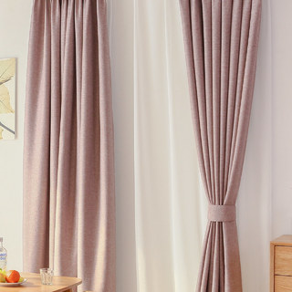 Serene Moment Mauve Purple Curtain 2