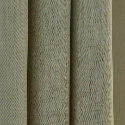 Blackout Zigzag Twill Cream Roman Blind 4