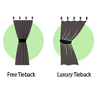 Free Tiebacks and Luxury Tiebacks