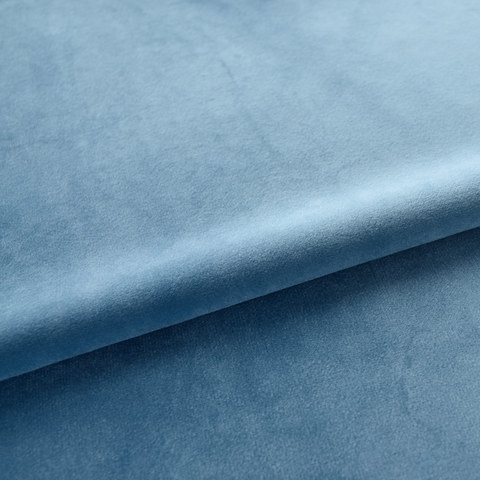 Velvet Microfiber Teal Blue Curtain 6