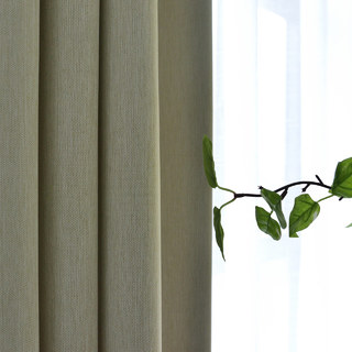 Blackout Zigzag Twill Cream Curtain 5