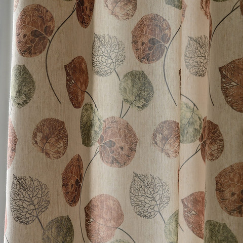 The Eucalyptus Moment Brown Leaf Roman Blind 3